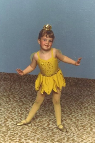 My first main part, Tinkerbell, aged 5yrs