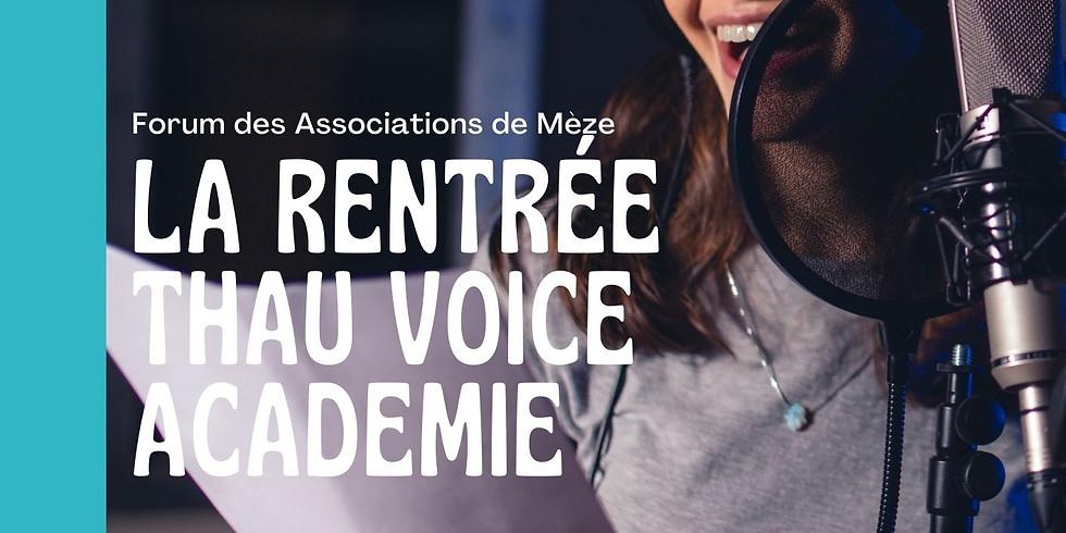 La Rentrée Thau Voice Académie
