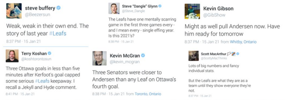 A Toronto View on the Senators' Opening Night Win Over the Leafs