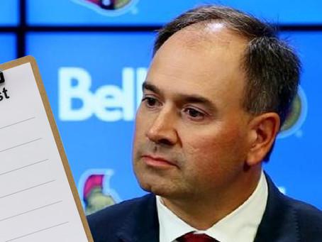 Pierre's 2021 Off-Season To-Do List