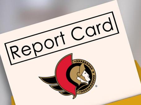 Ottawa Senators - Report Card Day