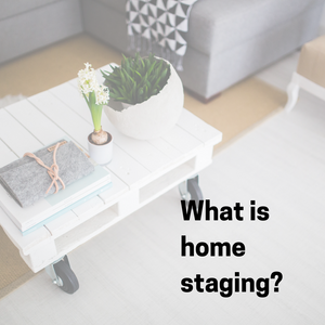 So you're a home stager...what does that mean?