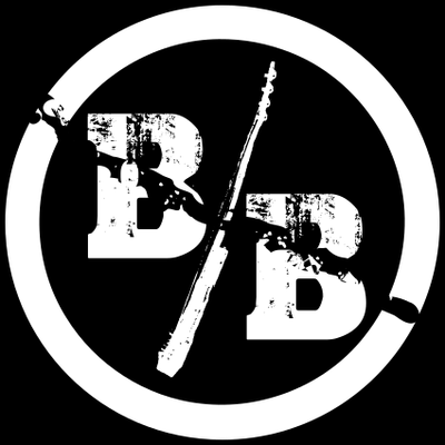 Broken Bass Fan Fahne