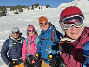 Groupe moniteur ski Avoriaz
