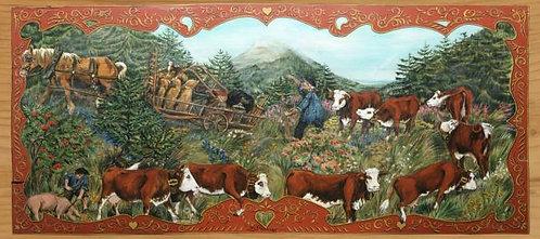 Le rouquin s'emballe : poya. Reproduction artisanale fabrication française.