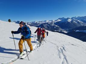 Ski de rando au Col du Rati