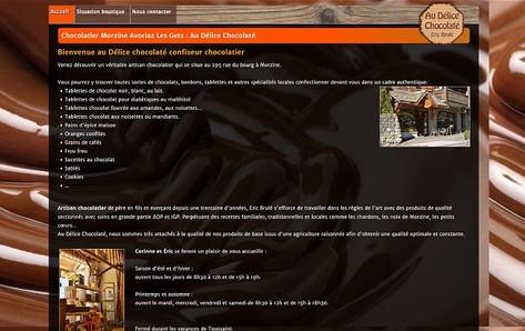Exemple de site internet 4 pages pour artisan et pme.