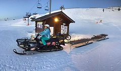 Descente VTT sur pistes de ski à Avoriaz