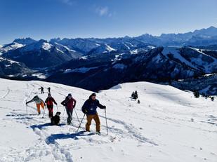 Randonée à ski Avoriaz Les Gets