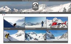 Site internet spécial guide et moniteur de ski.