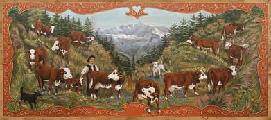 Poya couleur Mont-Blanc Chamonix