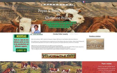 Sites internet vitrine pour artiste peintre ou sculpteurs prise de vue photos haute définition.