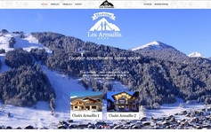 Création site internet à Morzine pour location appartements et chalets