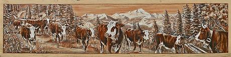 Buvette : poya de vache race abondance