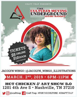 Hot Chicken & Art show