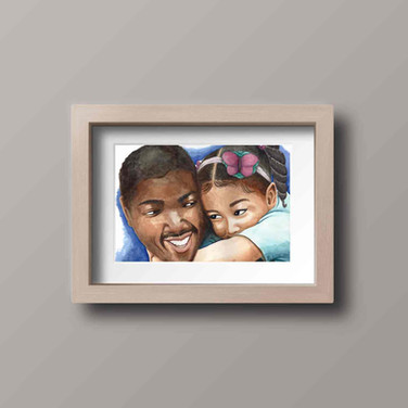 Daddy's girl print