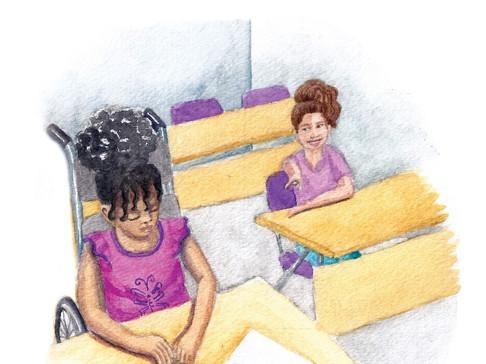classroom scene