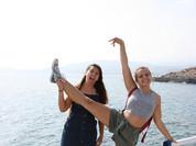Fanny et Elisa - Crête - Grèce