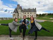 Elisa, Fanny et Margaux - Châteaux de la Loire