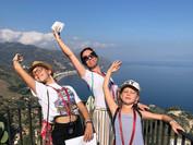 Telma, Roxane et Emie - Sicile