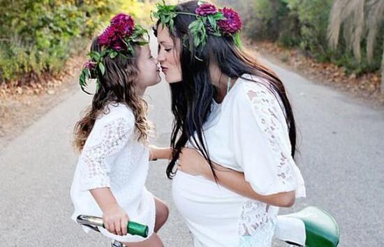 Pont, mint én - gyönyörű anya-lánya fotók