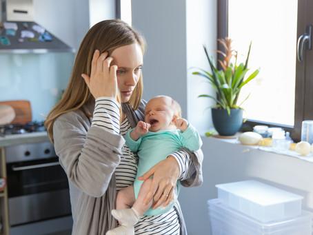 Magam sem tudom, mi van velem. Ez lehet a szülés utáni szorongás?