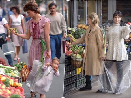 Egy ikonikus fotó az anyák második, sőt harmadik műszakjáról