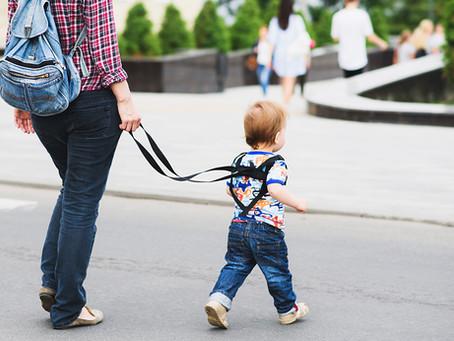 Póráz csak a kutyákra való? – a gyerekhámról