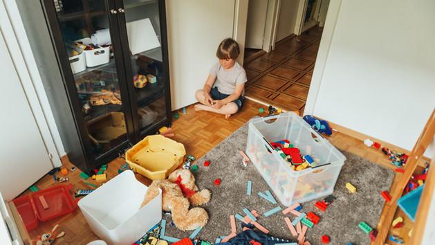 Kidobtam a gyerekem szertehagyott játékait, na és?