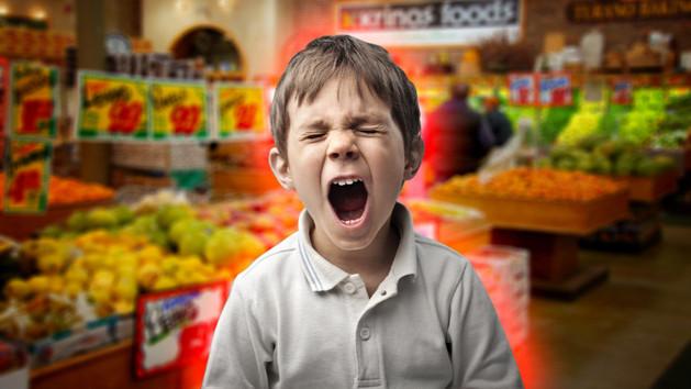 Tényleg rémálom gyerekkel vásárolni?