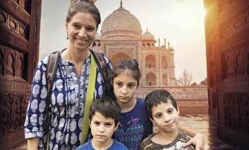 Három gyerekkel és az autizmussal Indiában