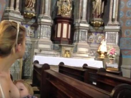 Már miért ne szoptathatnék a templomban?