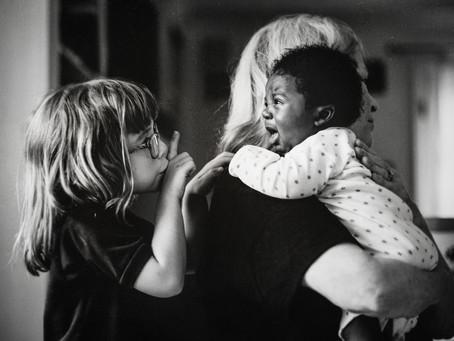 Szívemből született – az örökbefogadás gyönyörű fotókon
