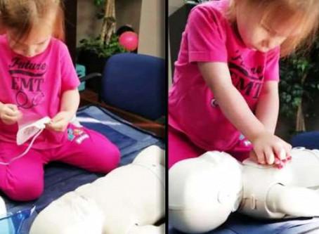 Újraélesztés? – egy hároméves is képes rá, és te? (videóval)