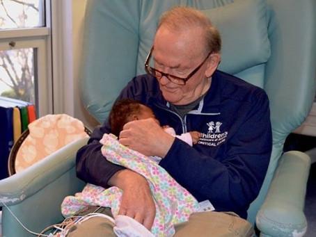 Búcsú az újszülött-intenzív osztály nagypapájától