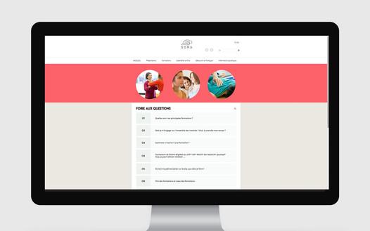 Site Web SOMA - FAQ