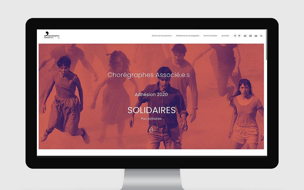 Web Design Chorégraphes Associés