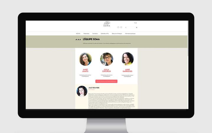Site Web SOMA - refonte