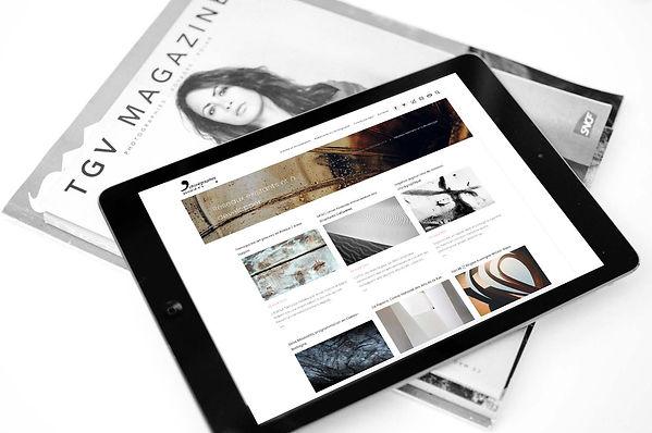 Tablette - Web Design Umi