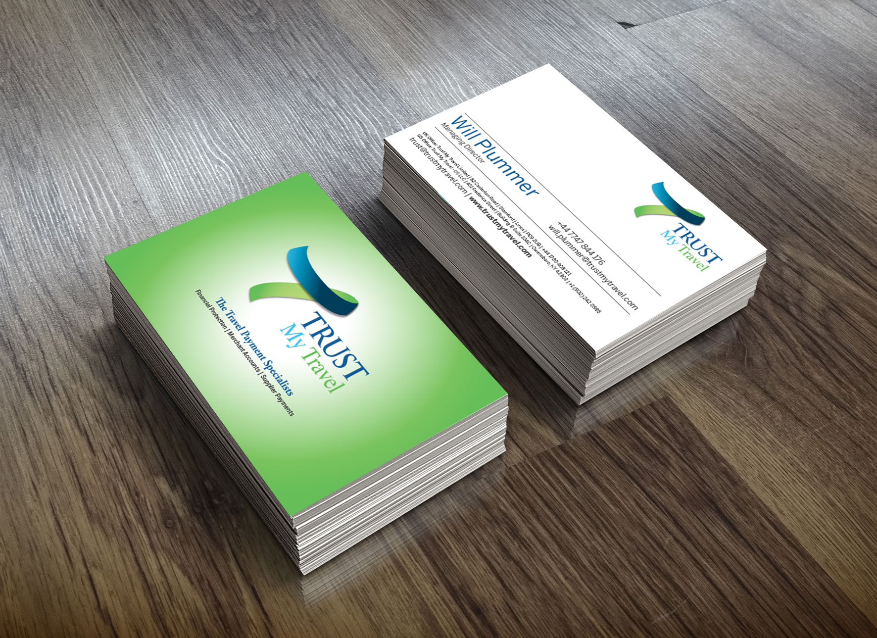 Trust My Travel Business Cards
