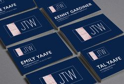 JTW Company Business Card Design