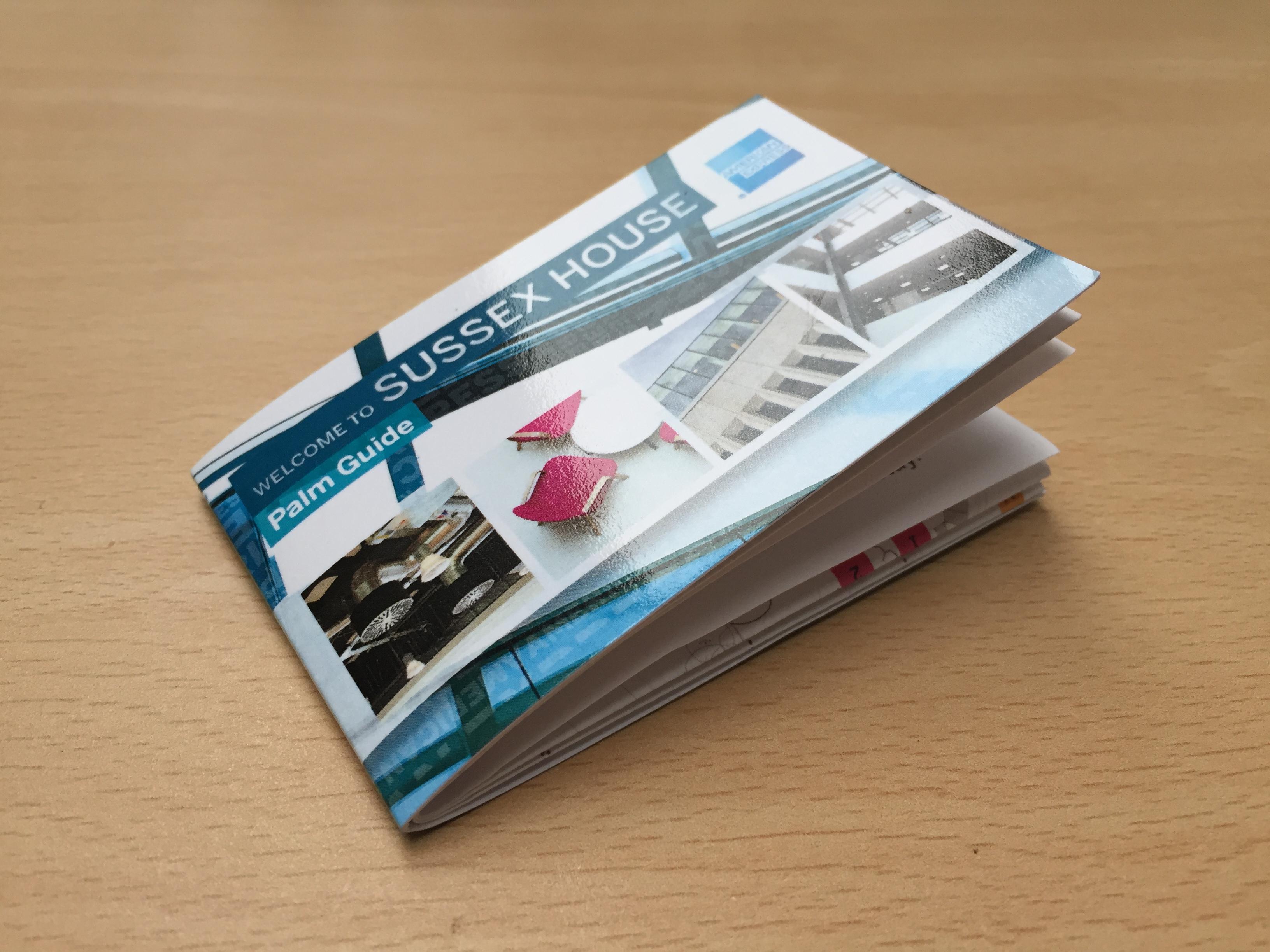 AMEX Printed Pocket Guide
