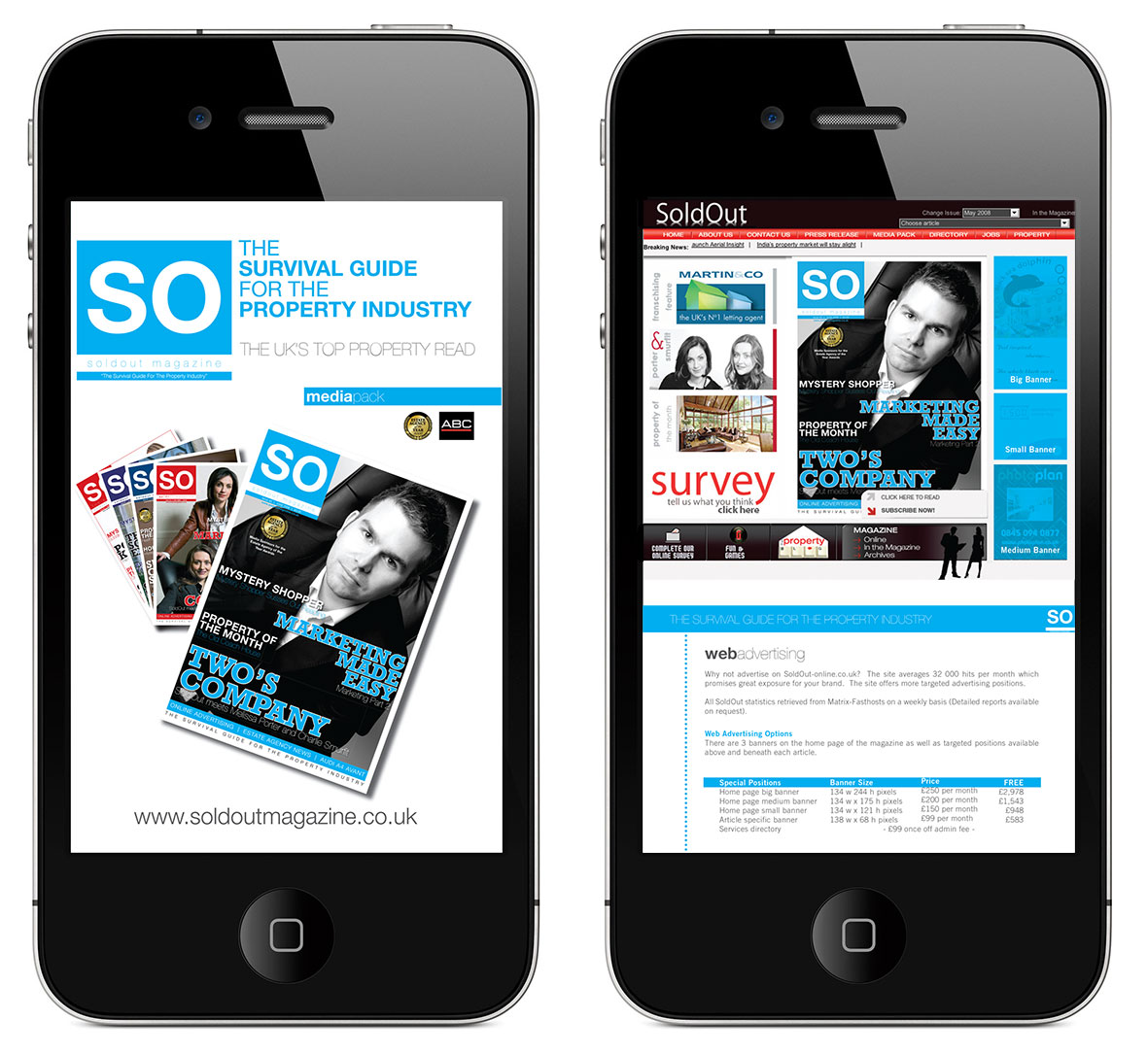 SO Magazine Advertising Rates