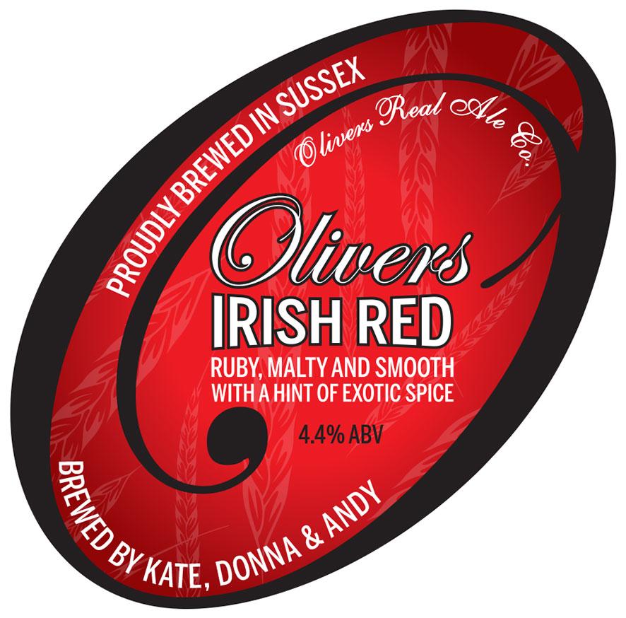 Oliviers Irish Red Logo