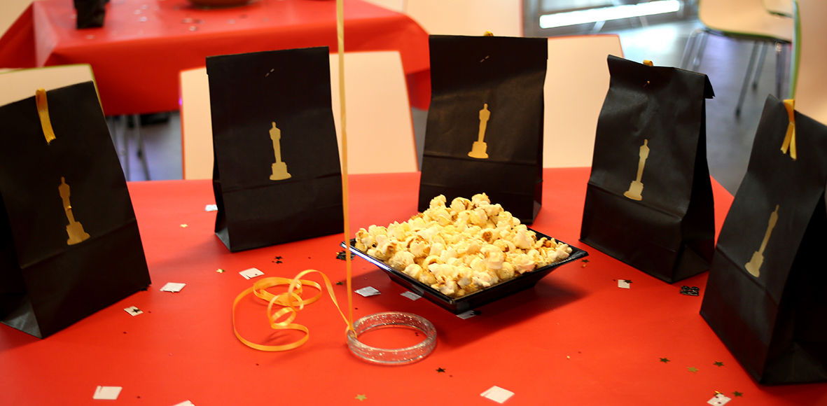 Oscar Award Ceremony Dressed Tables