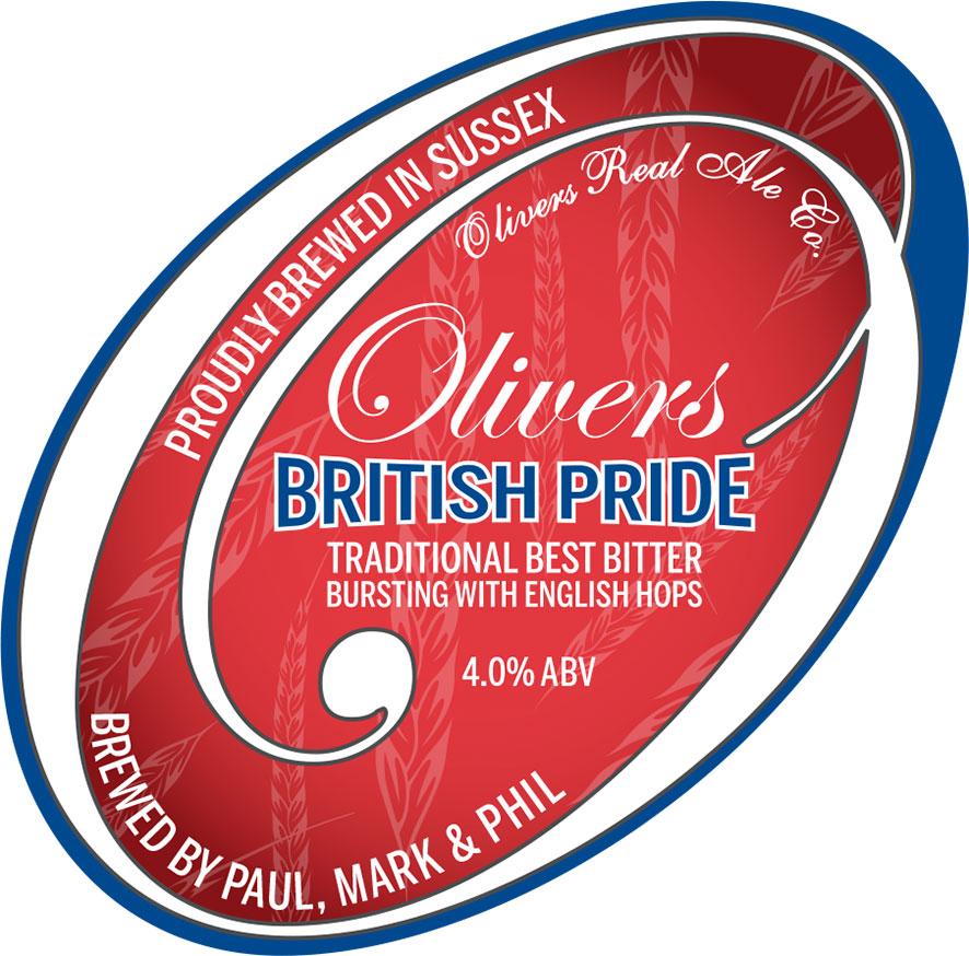 Oliviers British Pride Logo