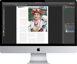 TIA Magazine Viewed on iMac