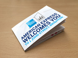 American Express Printed Pocket Guide