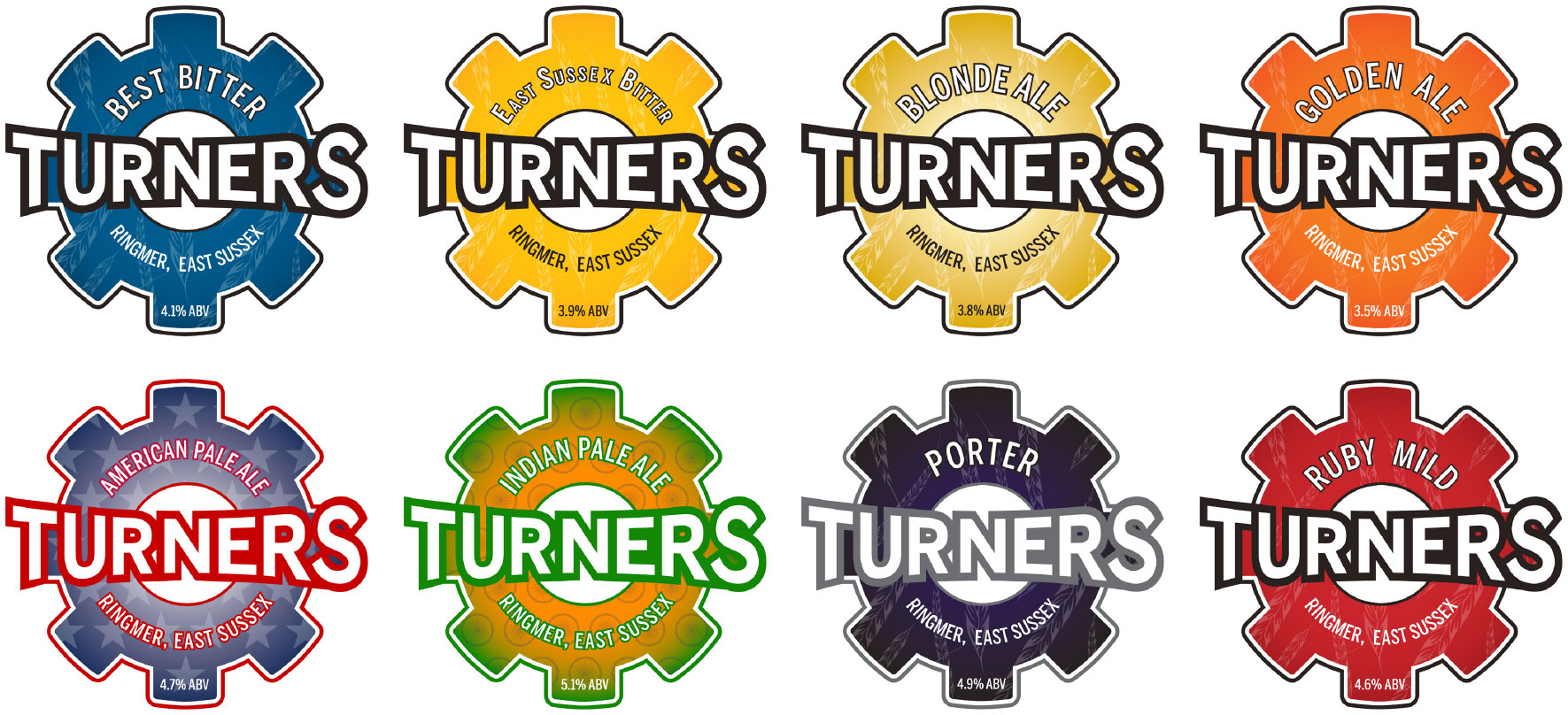Turners Beer Old Logos