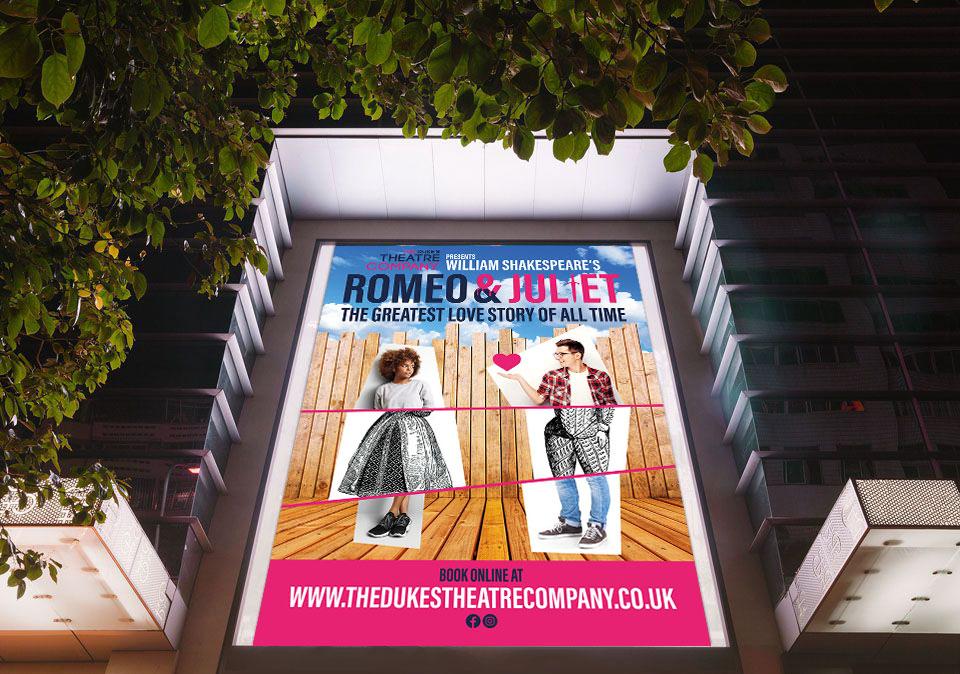 The Dukes Theatre Company Poster